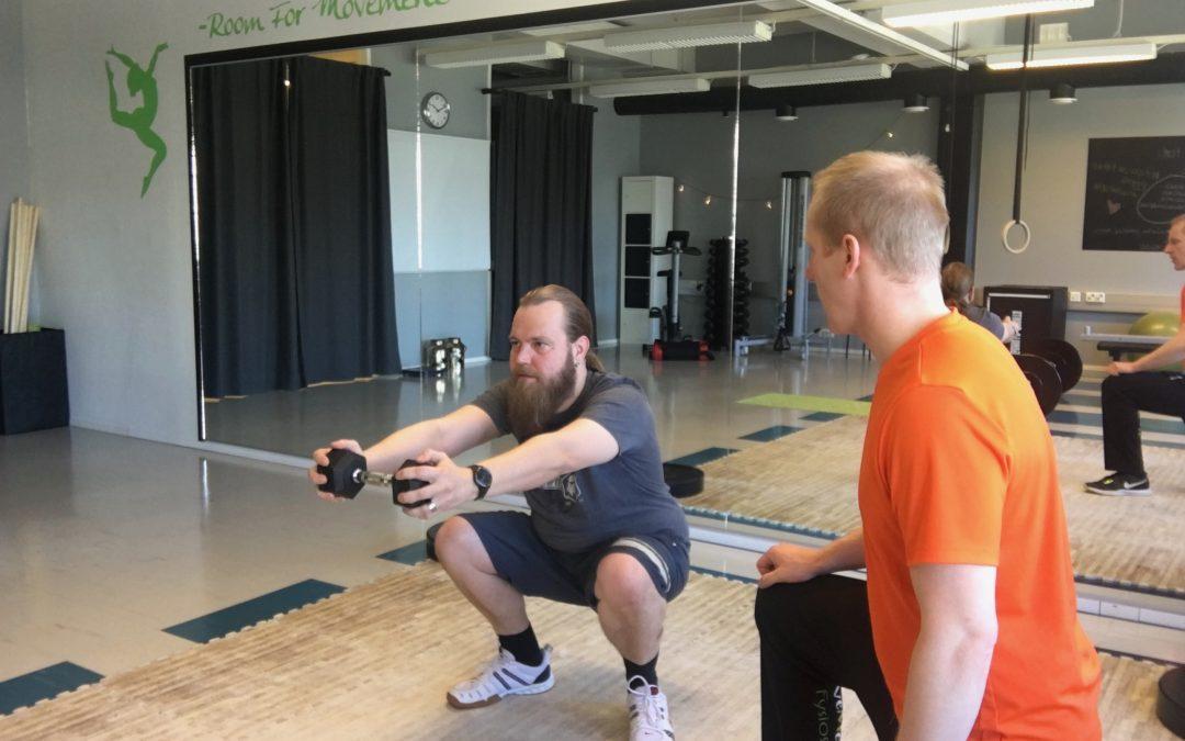 Soitinrakentajan kokemuksia Movement Fysioksen Personal Trainingista