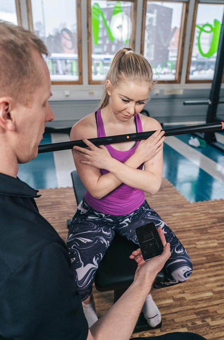 Personal training testaus Vantaa